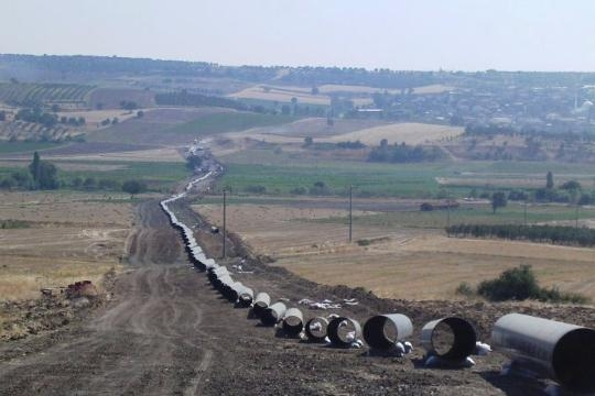 Turkey - Greece Natural Gas Pipeline Project (Phase-1)