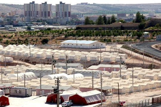 Leveling and Regulating of Midyat Tent City Basework and Construction Roads